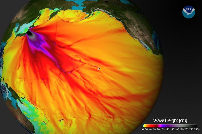 Visualizing the quake