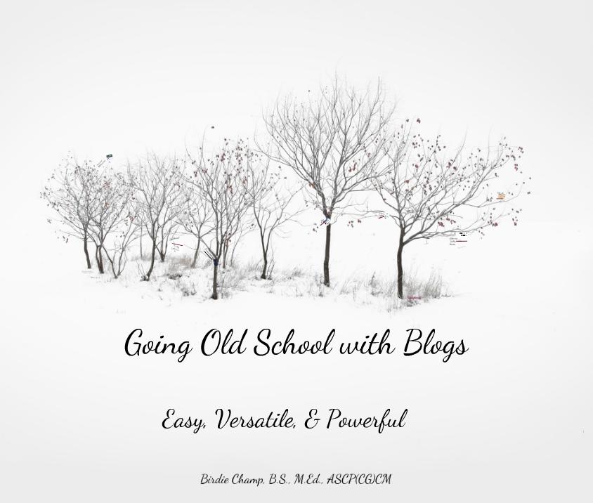 old school blogs by birdie champ